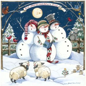 snowmen-caroling